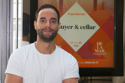 Freek Bartels binnenkort te zien in Buyer &Cellar