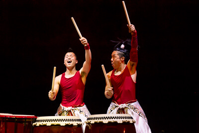 Yamato the  drummers of Japan foto Andy Doornhein 7733
